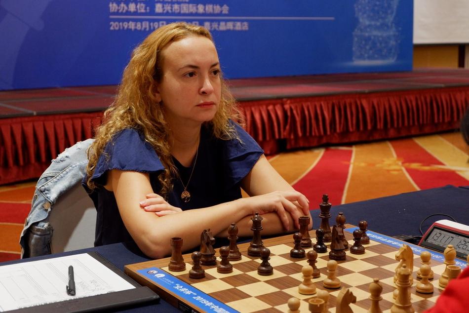 前女子世界冠军斯坦芳诺娃