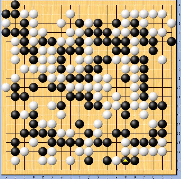 动图棋谱-扁康杯第2轮中韩对决 常昊负李昌镐