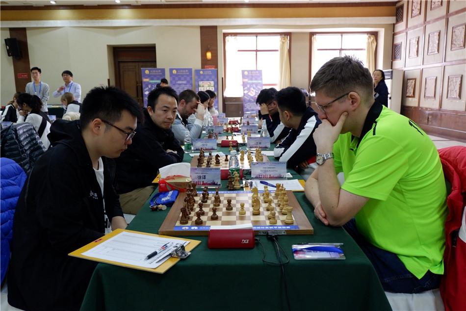 高清-国象联赛第18轮上海战天津