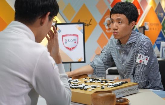 幻灯-韩国围棋联赛第10轮首场