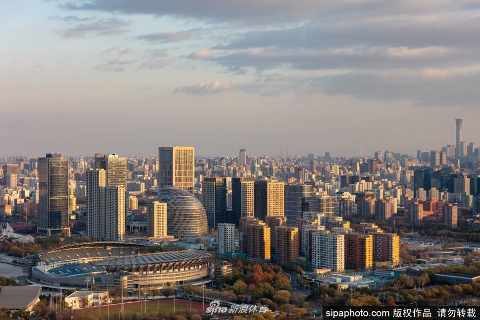 北京冬奥会冬奥村外立面施工基本完成