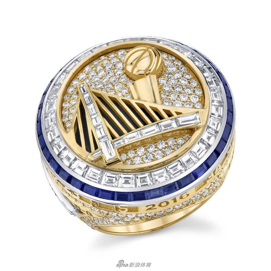 [NBA]勇士队第二枚总冠军戒指(8张)