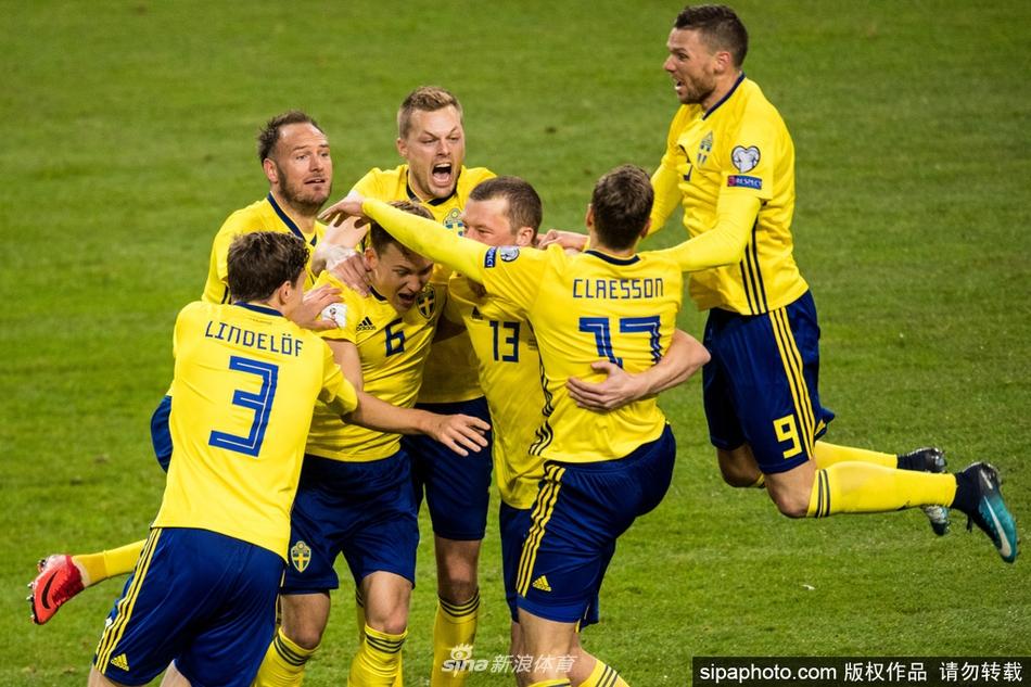 [世预赛]瑞典1-0小胜意大利(5张)