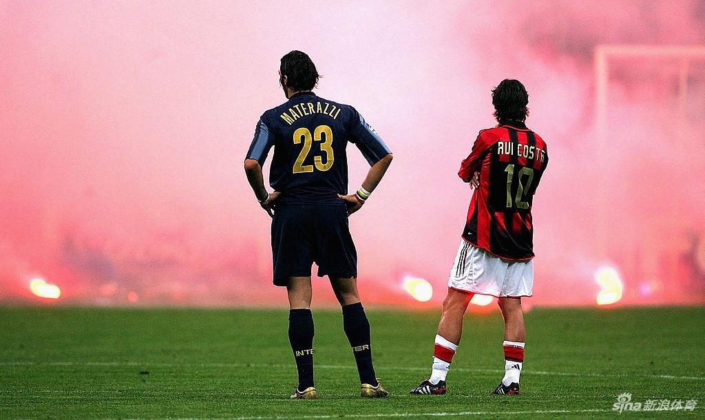 15年前欧冠米兰德比出现骚乱 球迷投掷烟花炸伤守门员