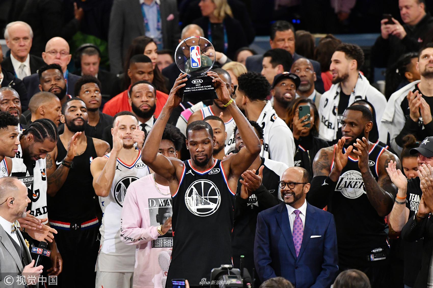 2019年02月18日NBA全明星赛 詹姆斯队vs字母哥队 全场录像回放