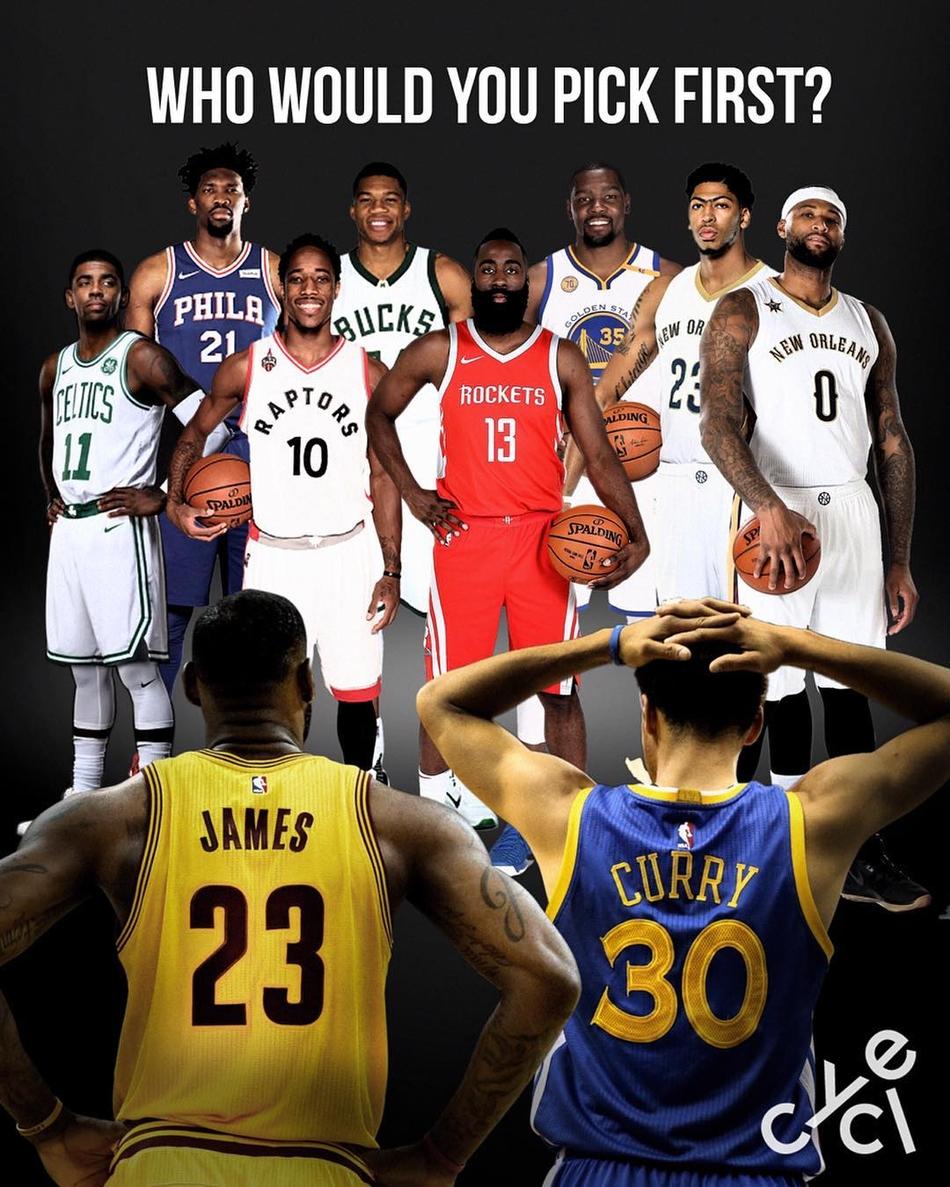 [NBA]2018全明星赛西部首发(7张)