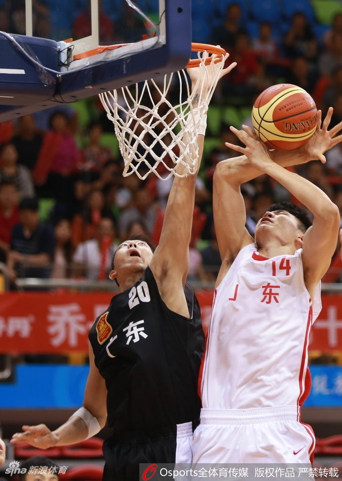 全运U18男篮决赛:广东夺冠(10张)