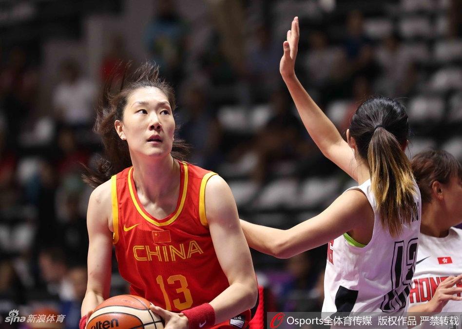 中国女篮小组赛4战全胜晋级亚运会8强