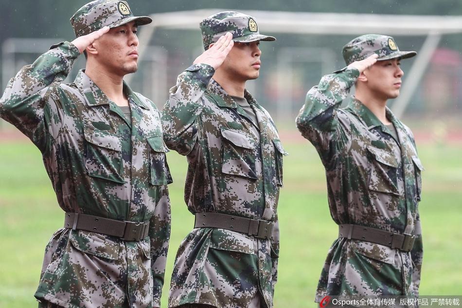 中国男篮进走军训汇报。外演