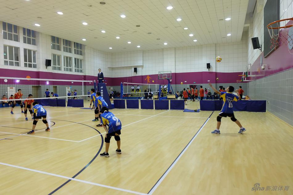 北京市传统校排球比赛