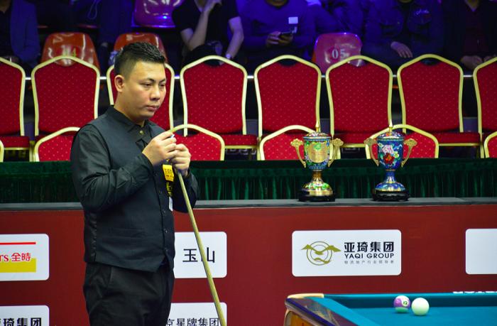 中式台球世锦赛郑宇伯韩雨夺冠图片