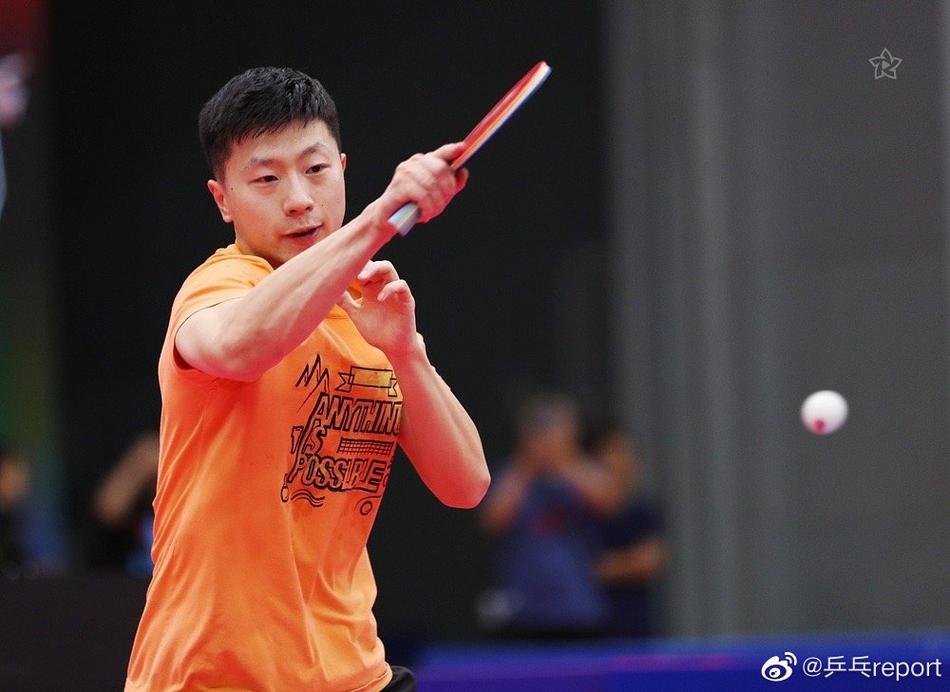 马龙等人备战全国乒乓球锦标赛