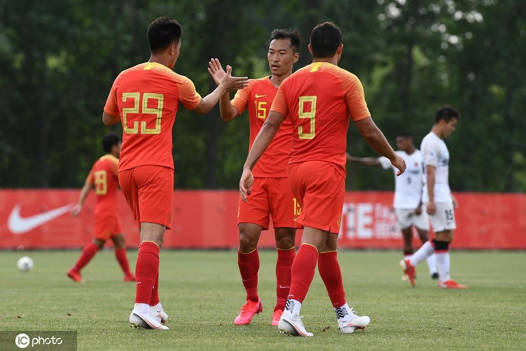 [热身赛]中国男足4-1上海上港