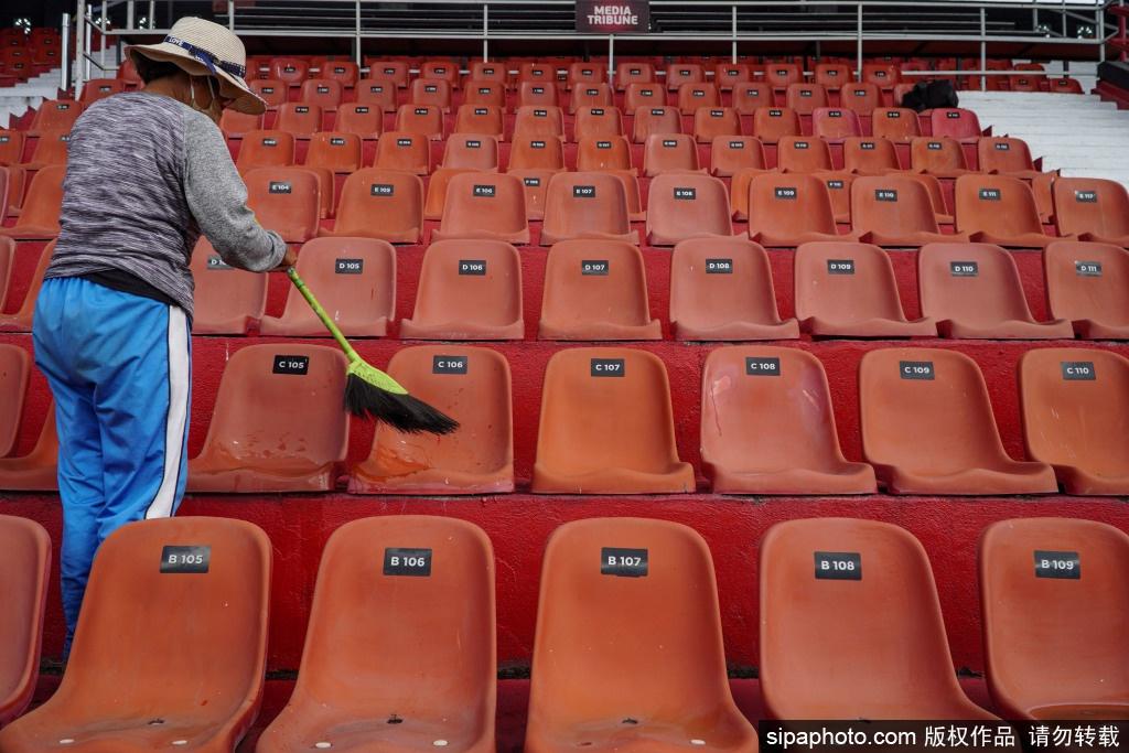印尼巴厘岛体育场为即将到来的U20世界杯做好充足准备
