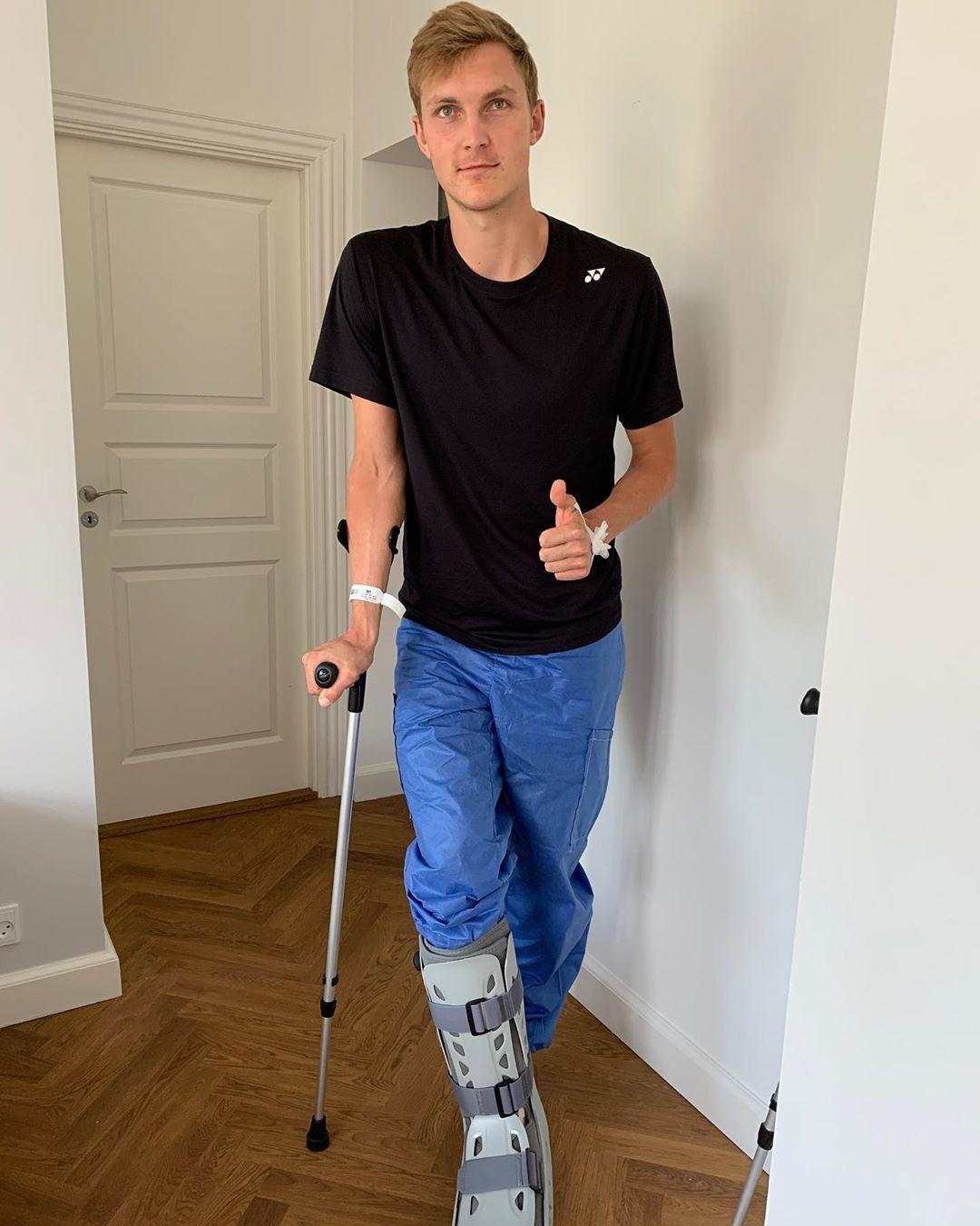 羽联宣布推迟汤尤杯 安赛龙立即进行右脚踝手术