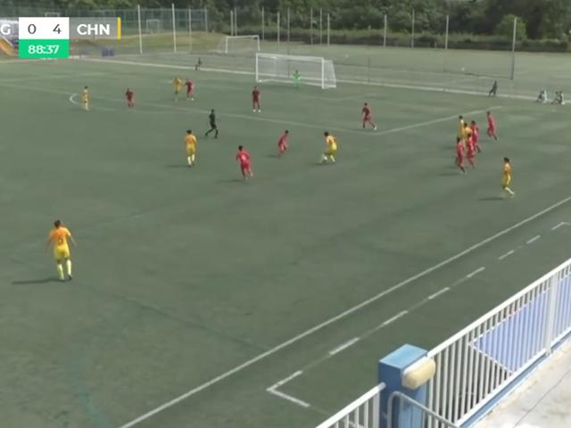 中国女足6-0中国香港女足