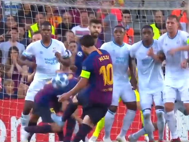 视频-足坛本赛季30大任意球破门 梅西3球强势入选