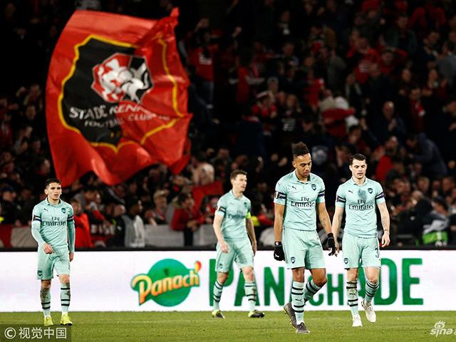 视频-伊沃比进球帕帕染红 阿森纳1-3做客法国首败