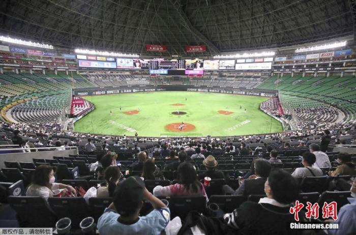 日职棒与J联赛恢复观众现场观战 唱歌呐喊被禁止