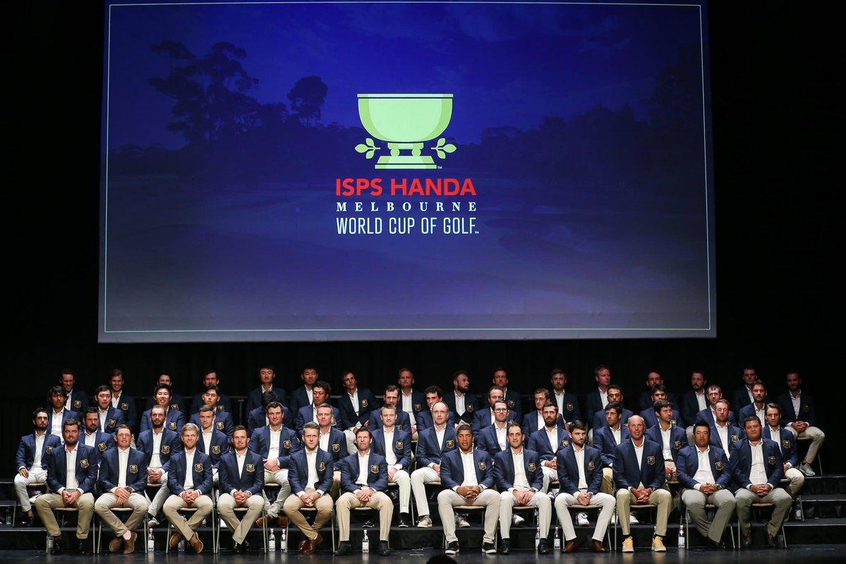 高尔夫世界杯盛大开幕