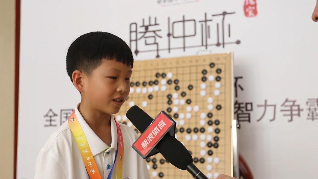 视频-柯洁小棋迷:不满意季军成绩 柯洁是我的榜样