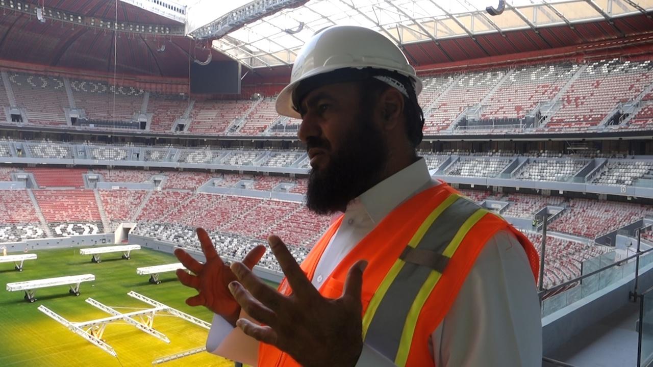 专访世界杯海湾球场总负责人