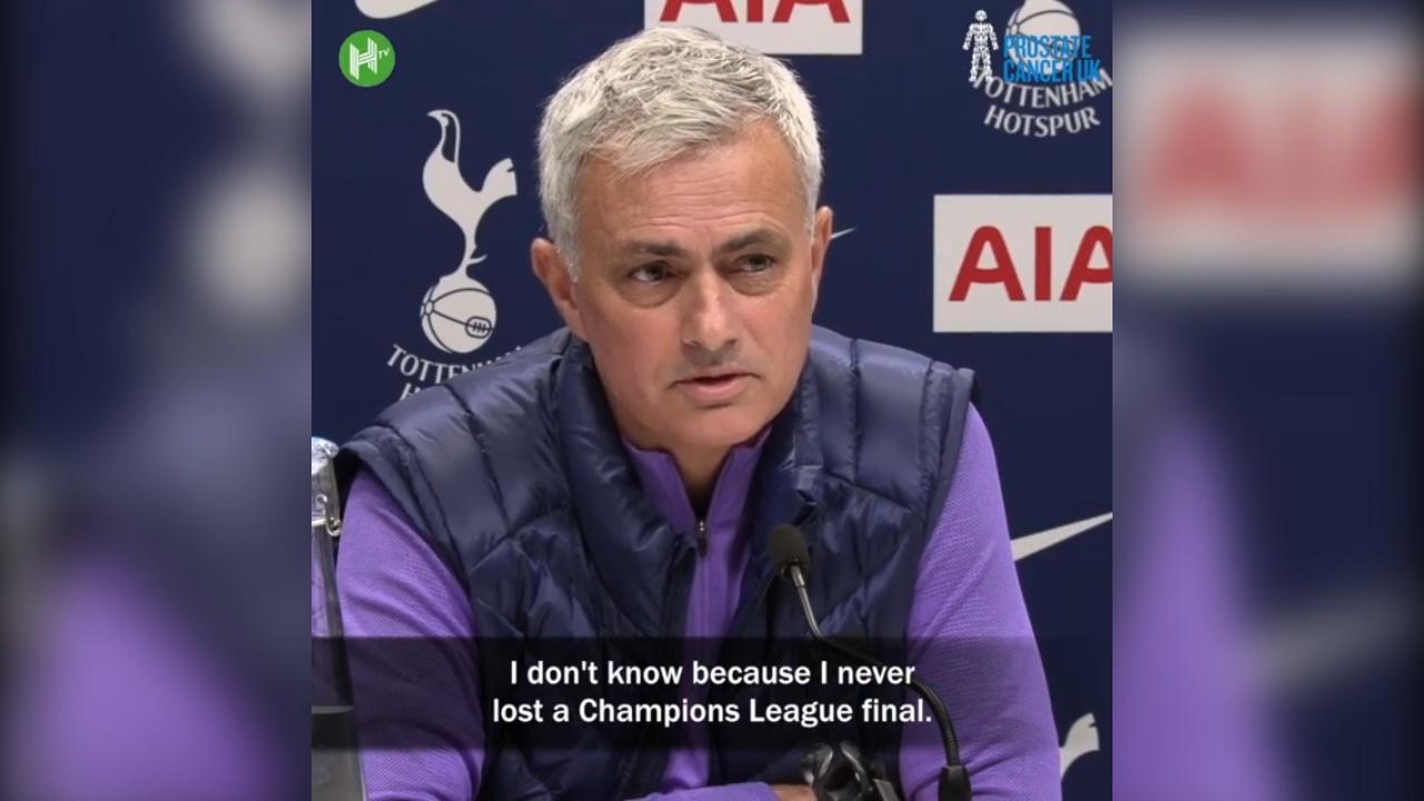 视频-穆帅发布会再爆金句 我从没输过欧冠决赛