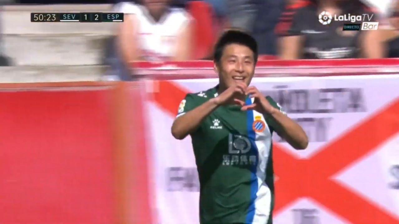 视频-争气!武磊打入西甲客场首球 荣膺全场MVP