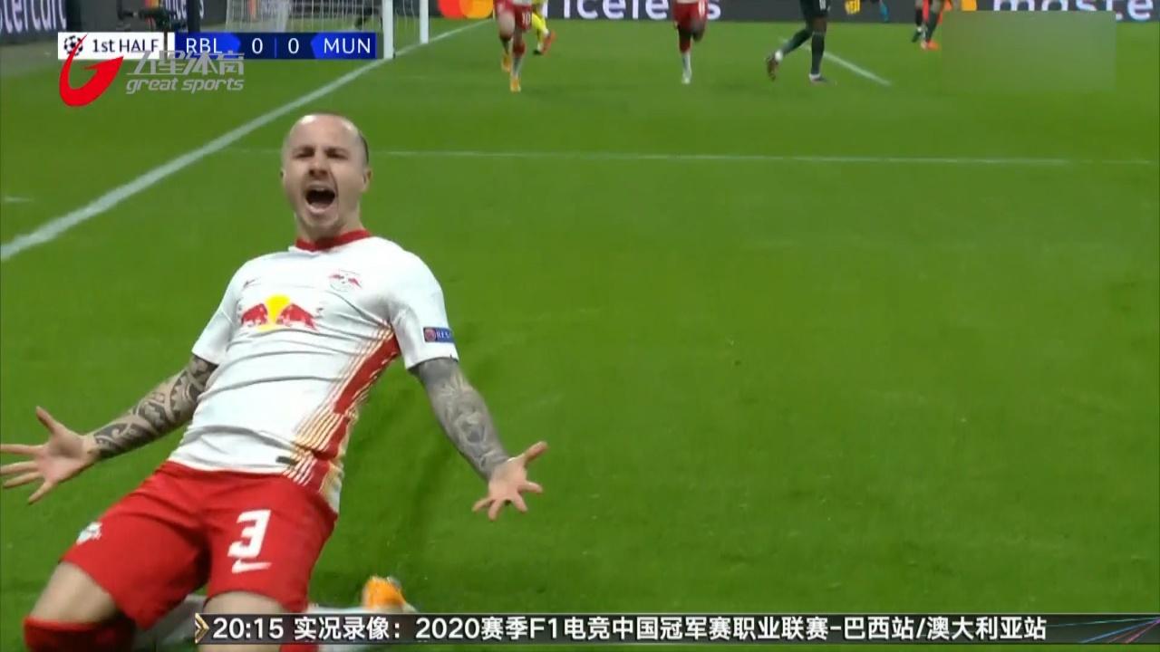 视频-B费博格巴3分钟追2球 曼联2-3负莱比锡出局