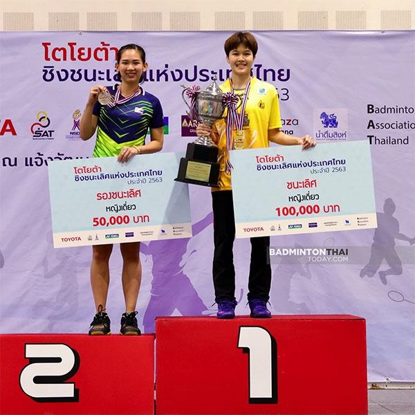 2020年泰国尤伯杯阵容公布 因达农领衔金达蓬落选