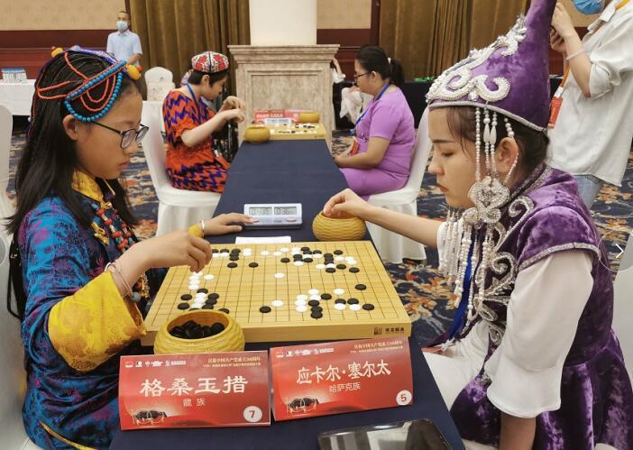 高清-民族服飾點亮圍棋賽場