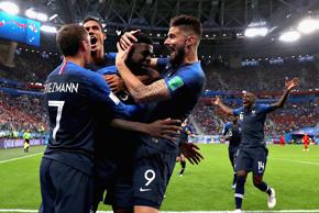 乌姆蒂蒂制胜球 法国1-0比利时进决赛