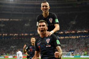 加时绝杀!克罗地亚2-1英格兰进决赛