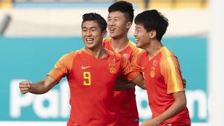 张玉宁韦世豪破门 U23国足6-0亚运开门红