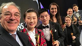 丁宁、樊振东获国际乒联年度最佳运动员奖