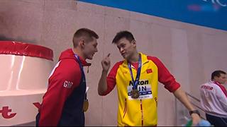 孙杨英文霸气回应斯科特:你输了我赢了!