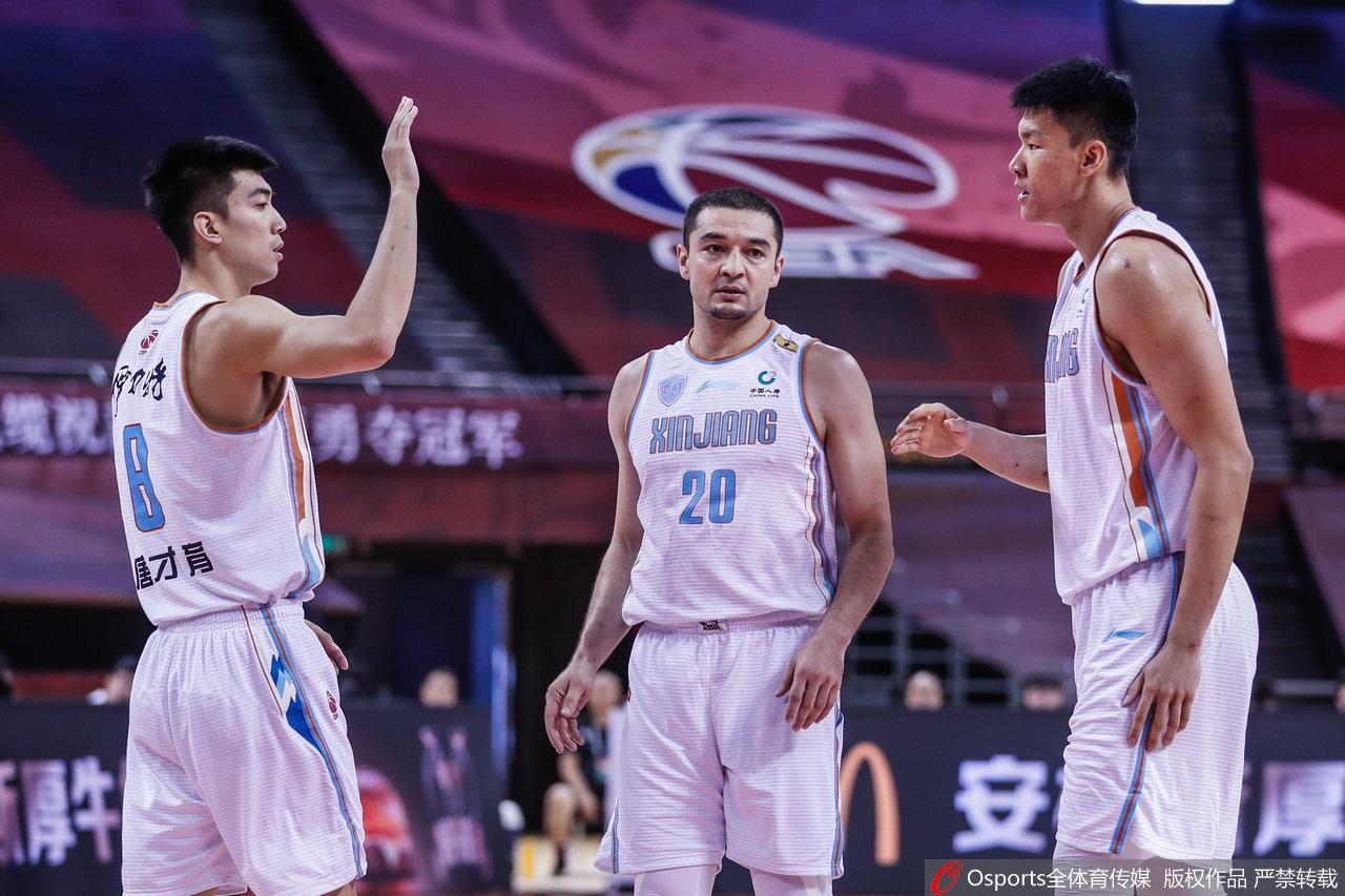 CBA复赛:新疆110-70肯帝亚