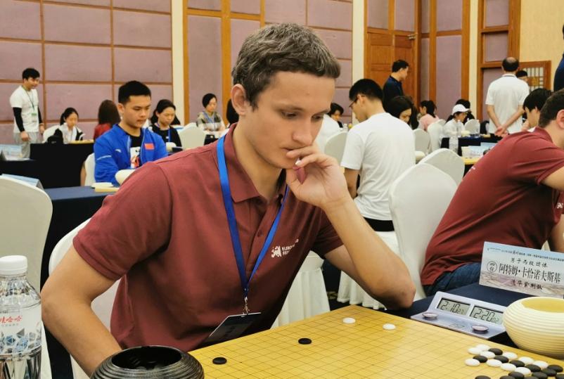 高清-围乙第2轮中外棋手同场竞技