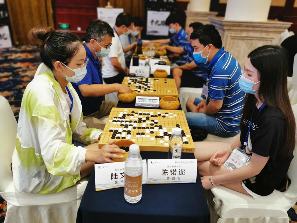 高清-围棋之乡联赛首日激战