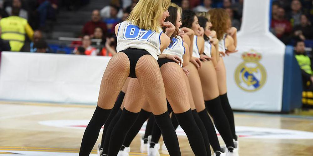 盘点西甲篮球联赛啦啦队美女精彩表现