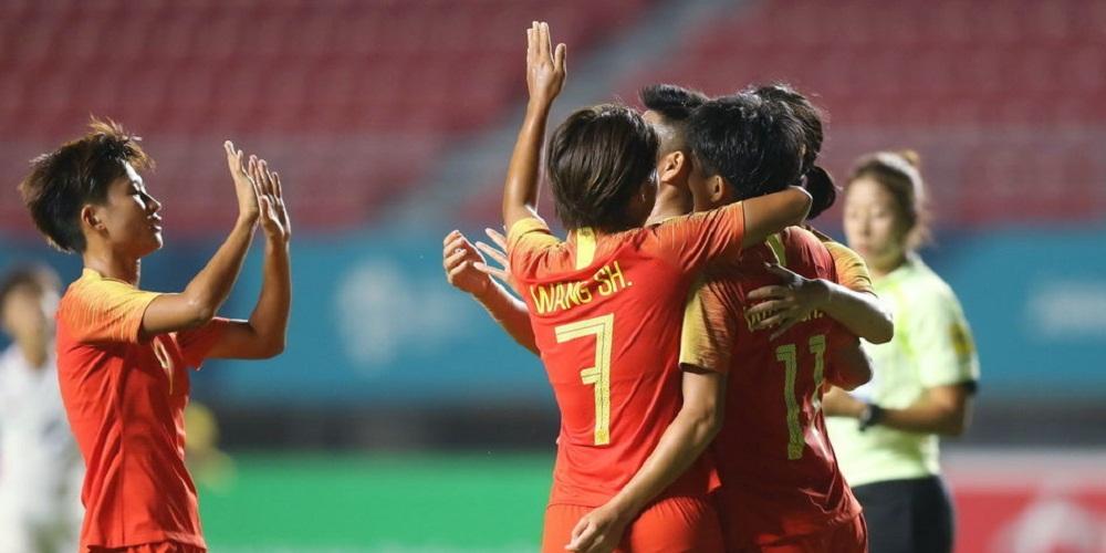 亚运-古雅沙双响王霜破门 中国女足7-0中国香港