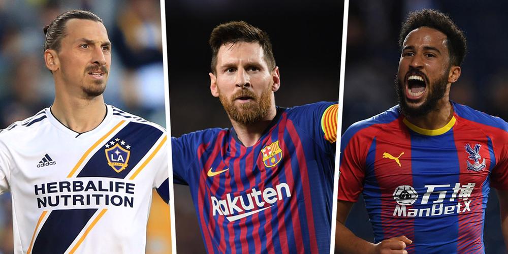FIFA最佳进球候选:梅西神级吊射