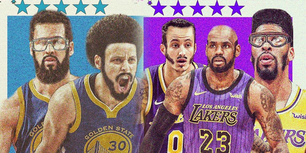 NBA球员复古洗剪吹!