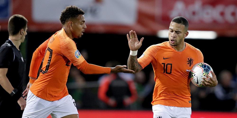 [欧预赛]荷兰3-1北爱尔兰