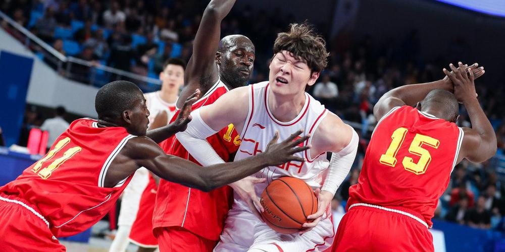 [军运会]中国男篮92-62胜刚果