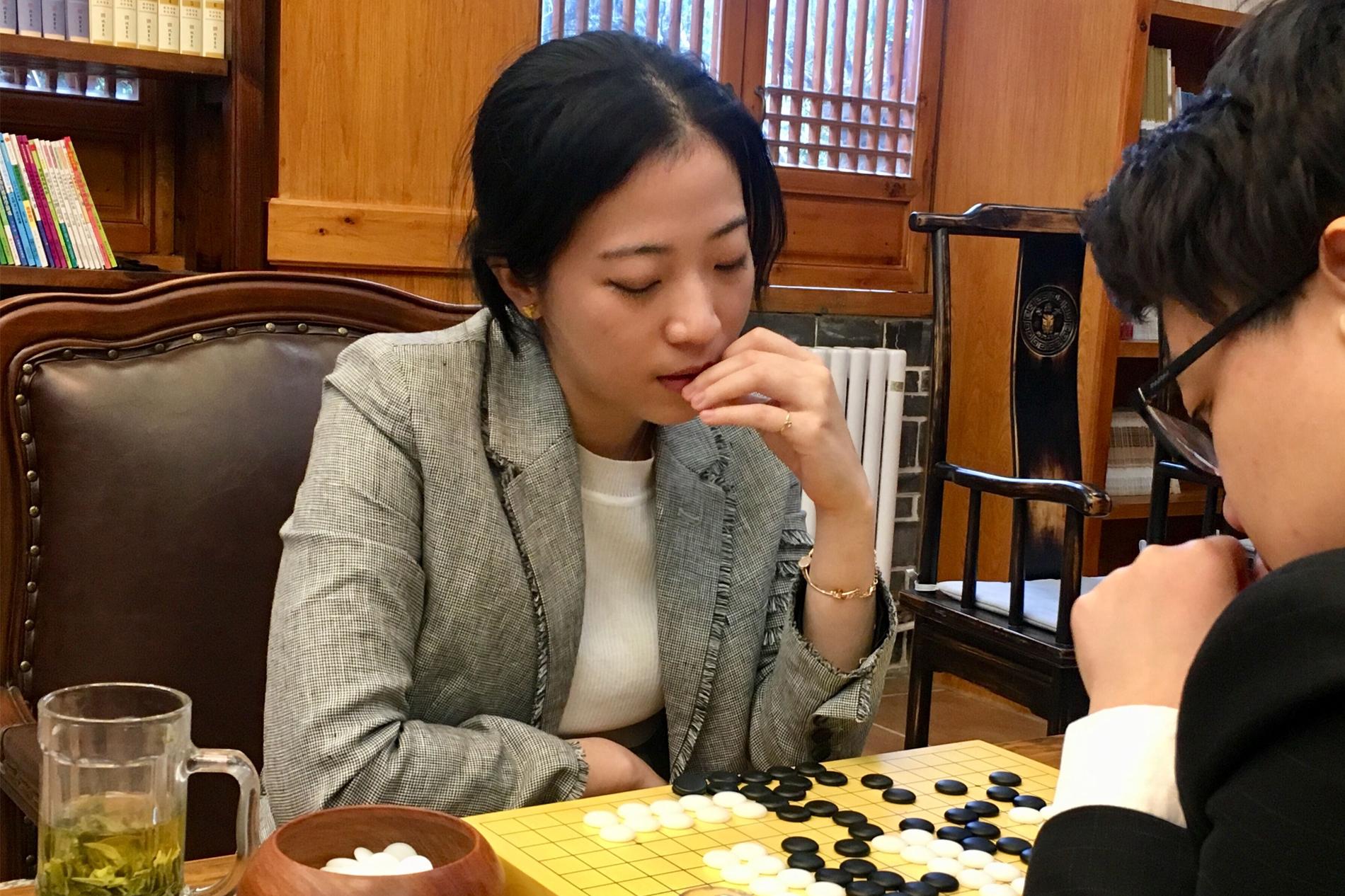 高清-女子名人战首局赛后