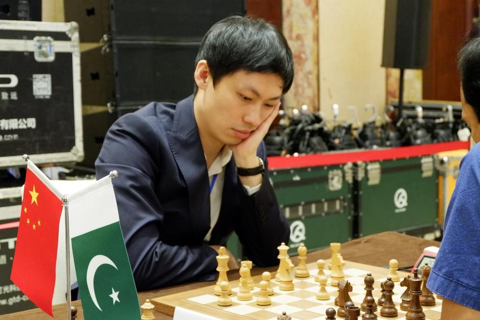 高清-温阳率领中国一队出战
