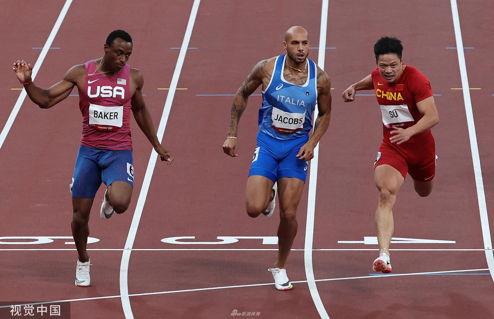 【博狗体育】苏炳添:半决赛曾被对手打手 没想到能跑到9秒83