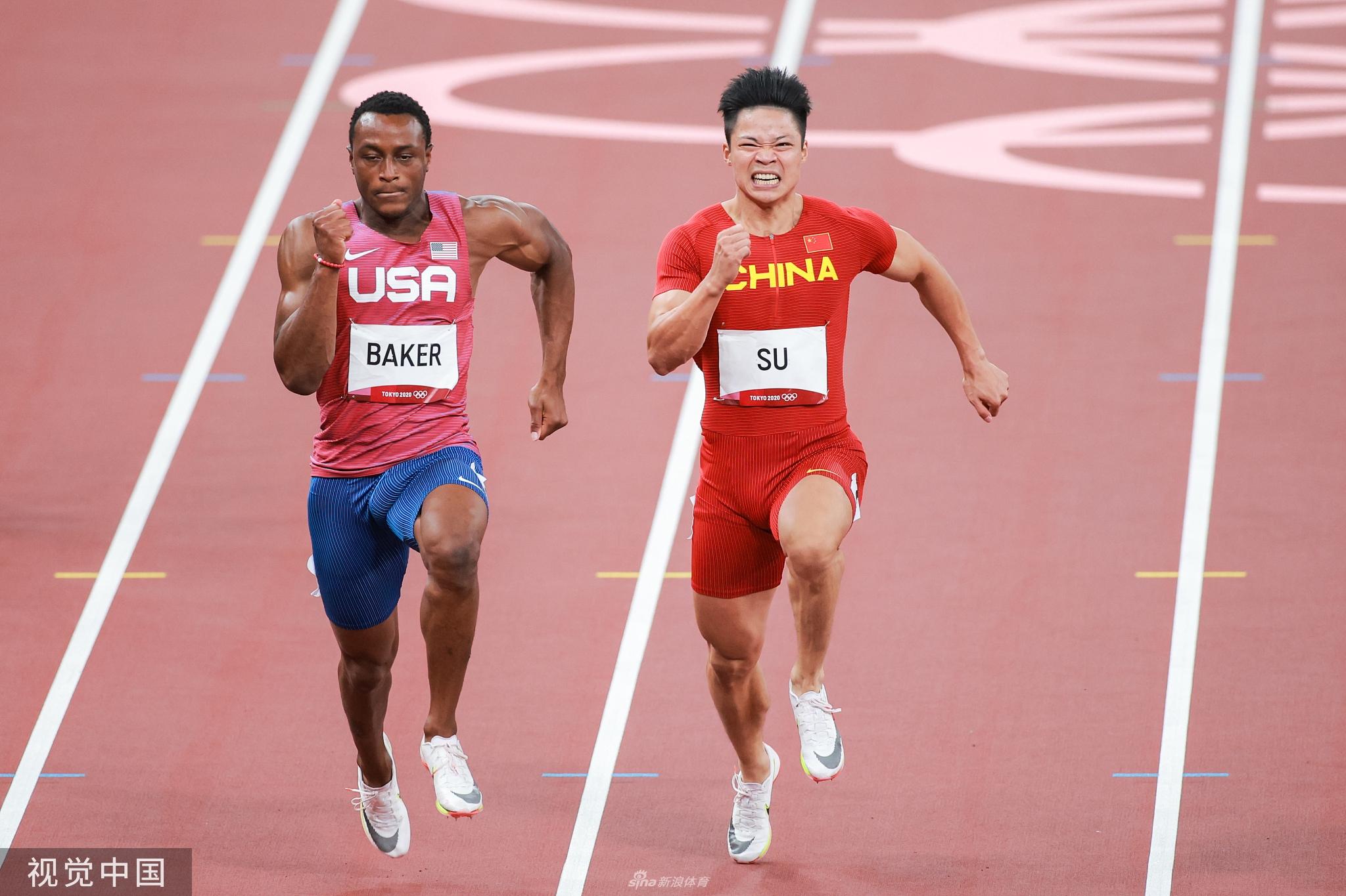 奥运百米飞人大战 苏炳添9秒98获得第六名