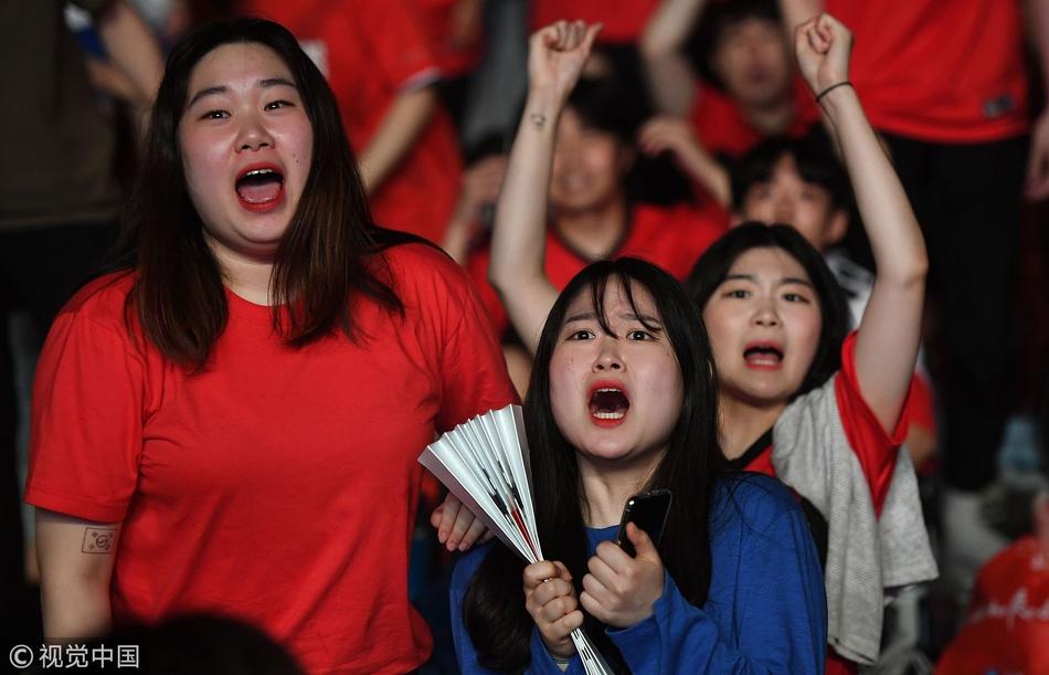 两连败!韩国女球迷痛哭流涕